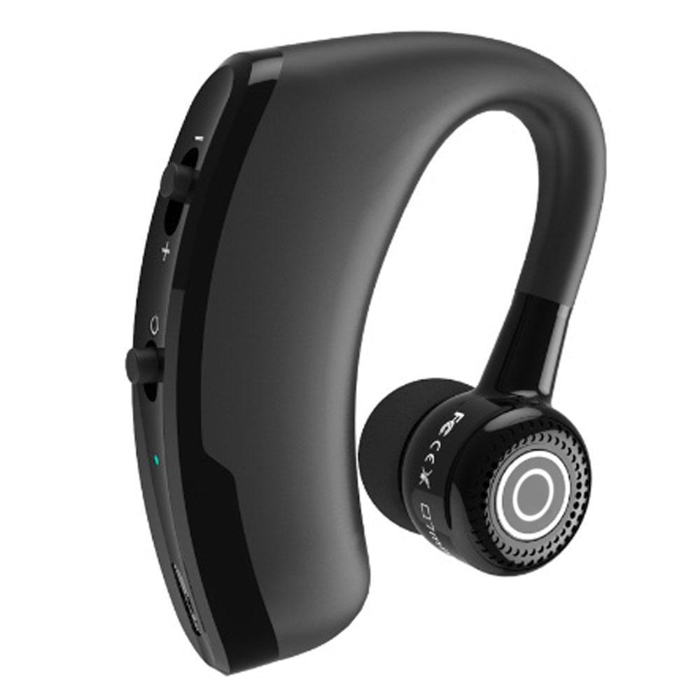 V9 Stereo Bluetooth Kulaklık Moda Nötr Siyah Mini Taşınabilir Gerçek Kablosuz