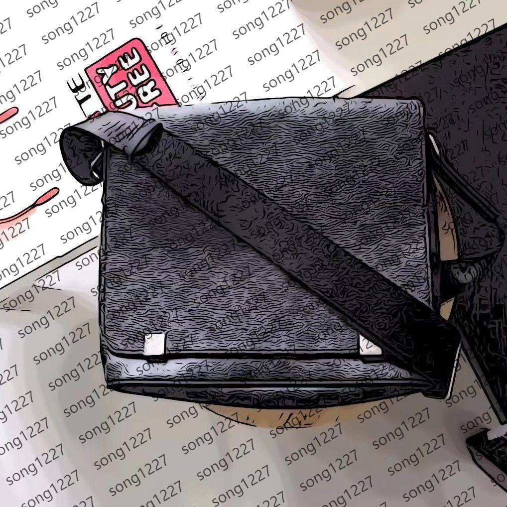 2021 L 42Postman Borse 404Small Grande borsa a tracolla è la partita giornaliera per gli uomini alla moda con spazio interno chiaro e spazioso
