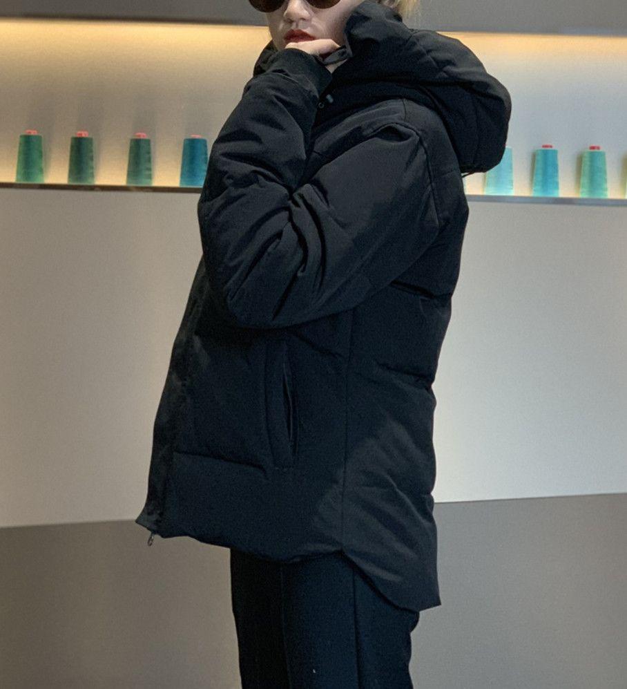 Giacche invernali Cappotto da uomo Cappotto con cappuccio Classico Classico Top Quality Thick Down Giacca uomo Parka Tenere caldi uomini Capispalla vestiti Homme Parkas Doudoune