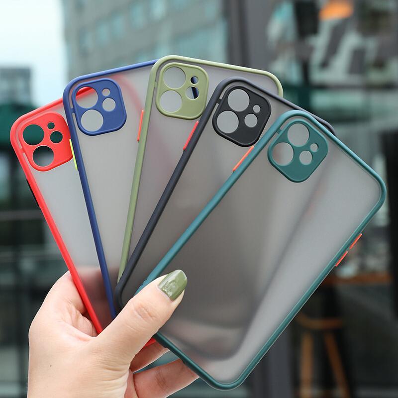 Skin Feat Matte Phone Case para Xiaomi 10T 10 Pro Lite 11 Ultra Mi Poco M3 F3 X3 Pro Proteção de Lente Proteção à Prova de Silicone de Silicone de Silicone