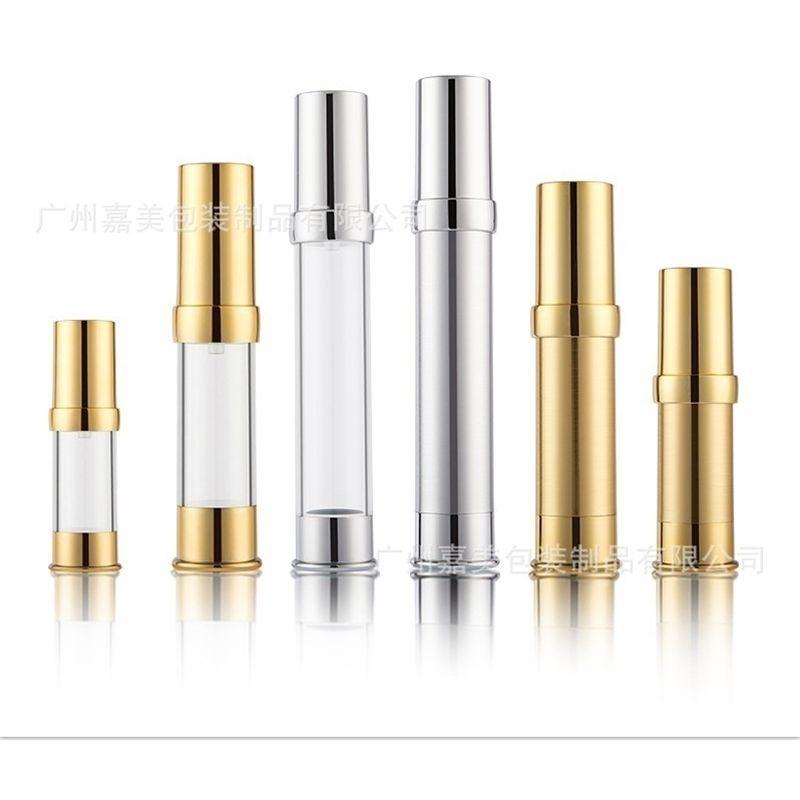 Factory sample, grade cosmetics separation 5ml-30ml electroplating high UV vacuum bottle emulsion, beak press spray bottle.