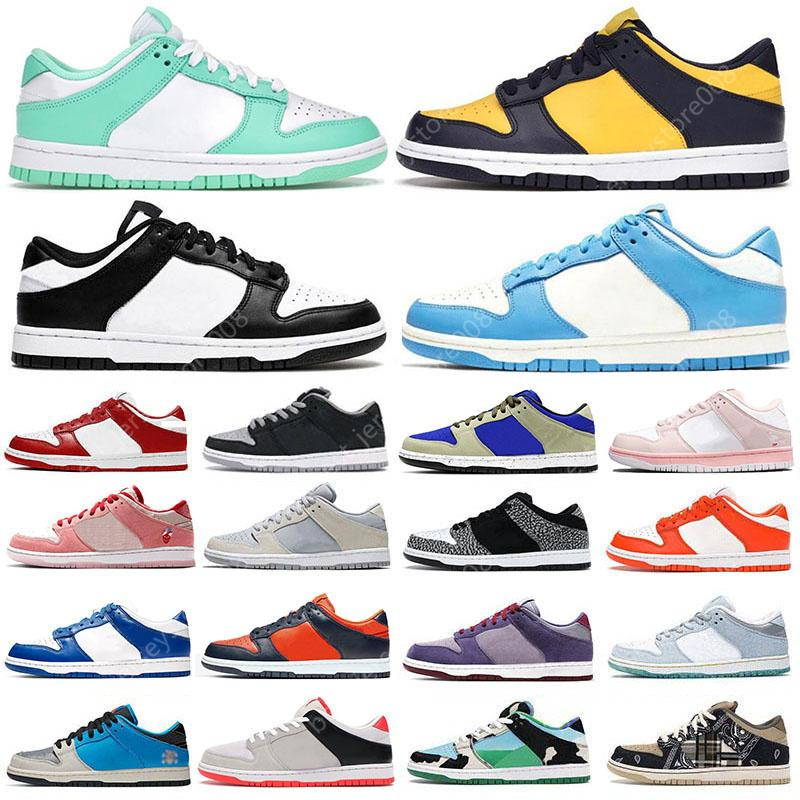 des chaussures Dunks Low Coast Running Shoes for men women Dunky University Blue Syracuse Valentines Day womens Classic Lows trainers outdoor sports sneakers