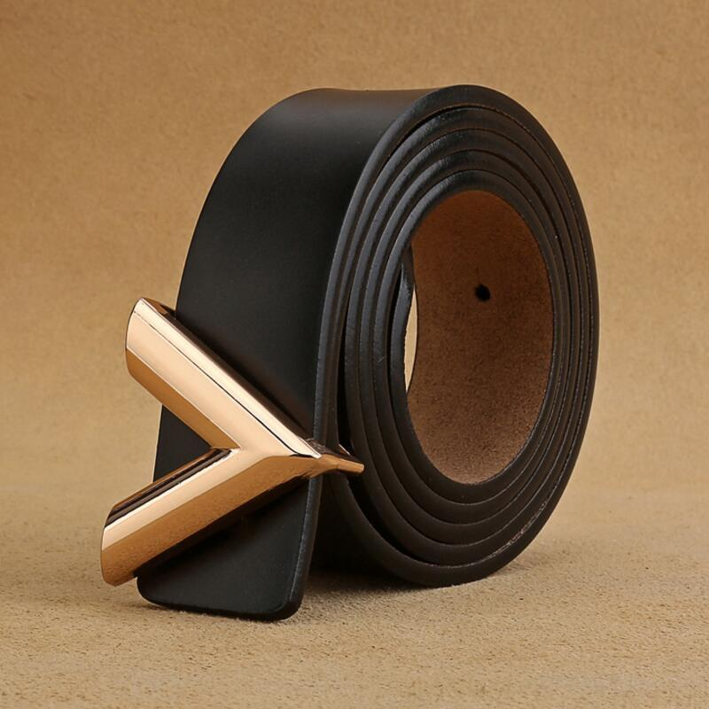 Designer Uomo Donna Cintura di Lusso Cintura in vera pelle V Ferckle cinture in vita cinture di alta qualità Giftswaistband