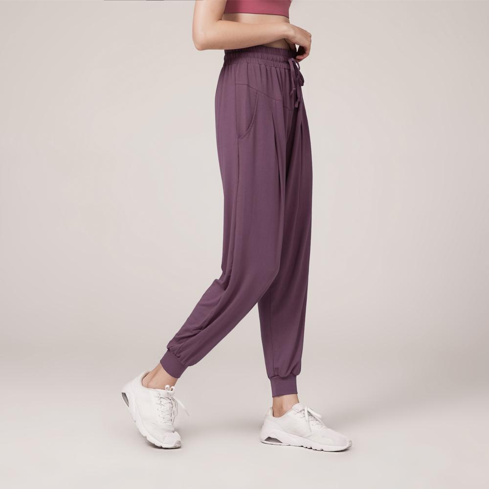 MOONGLADE Gym Leggings Yoga Pants Fitness Vêtements de sport Femmes Loisirs Loisirs Loisirs Cordon de serrage Pieds de faisceau à séchage rapide Sèche-cheveux Jersey