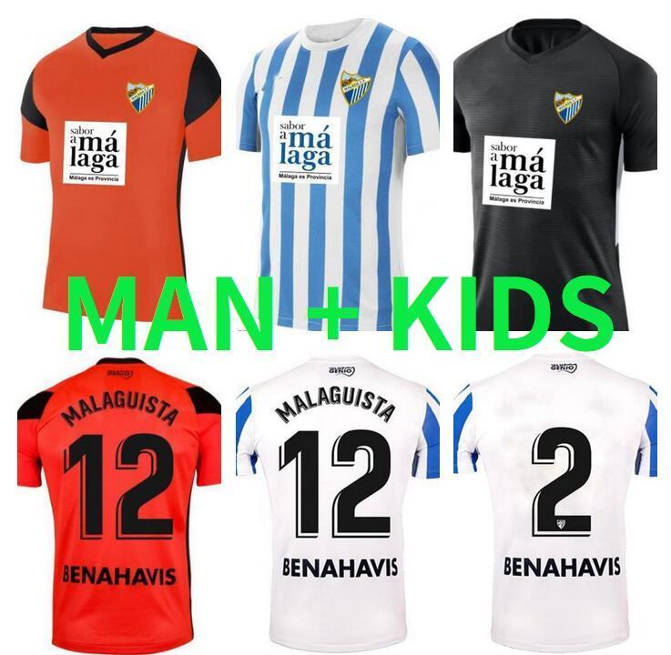 21 22 Málaga Jerseys 2021 2022 Jairo Luis Munoz Jozabed Ismael Football Shirt Home Away Juankar Camiseta de Futbol CF Juande Man Kit Kit