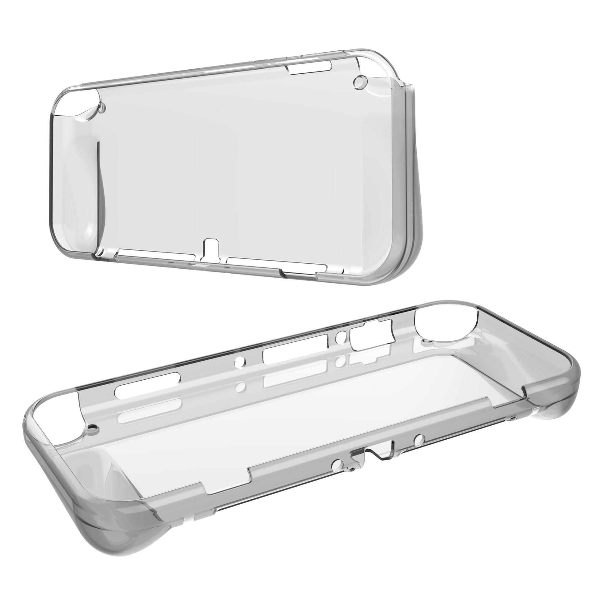 Clear TPU Soft Case Cover for Nintendo Switch OLED 30PCS/LOT SIMPLE OPP