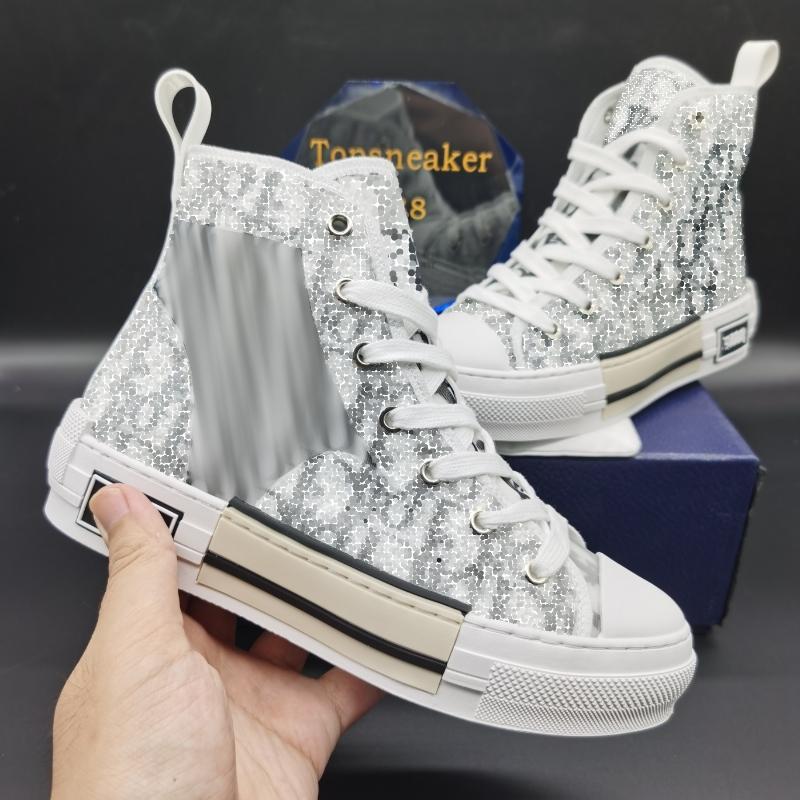 Top Qualität Klassische Leinwand Design Schuhe Mann Mode Leder Schnür