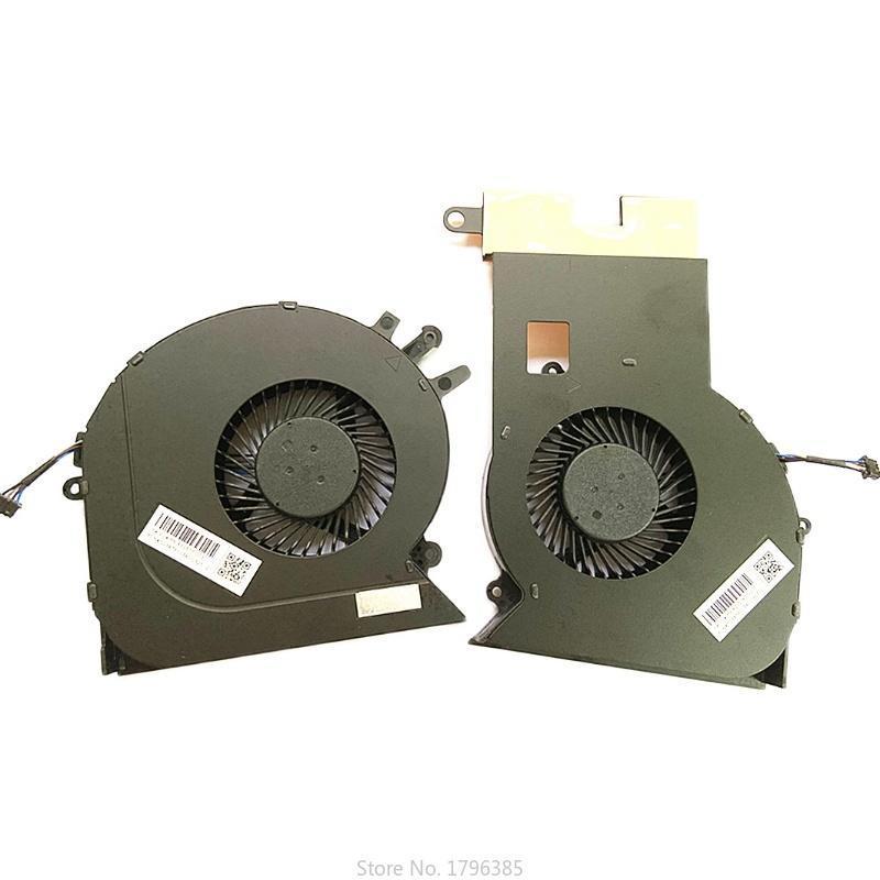 브랜드 원래 CPU GPU 냉각 쿨러 팬 그림자 엘프 4Plus 3Plus TPN-Q195 17-CE 17- 노트북 노트북 패드