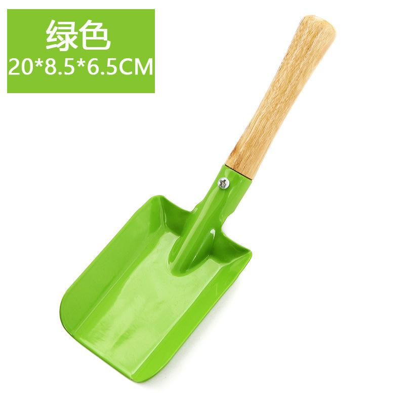 Mini Gardening Shovel Colorful Metal Small Shovel Garden Spade Hardware Tools Digging Garden Tools Kids Spade Tool 640 S2