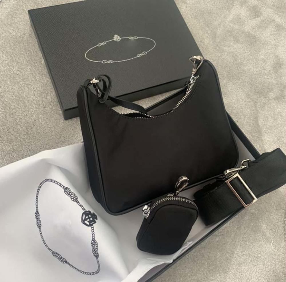 Borsa da donna Messenger Borsa con una spalla di alta qualità in nylon da uomo in nylon-selling Girl Hobo Portafoglio