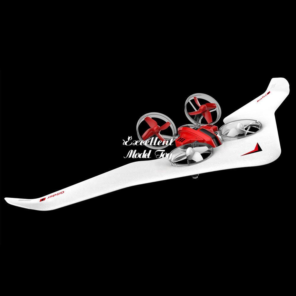 DIY 3 in einem RC-Flugzeug-Spielzeug, Segelflugzeug, Quadcopter-Drohne, Luftkissenfahrzeug, drei Moden von Meer, Land und Luft, coolen Drift, Weihnachtskind-Geburtstagsgeschenke, 2-2