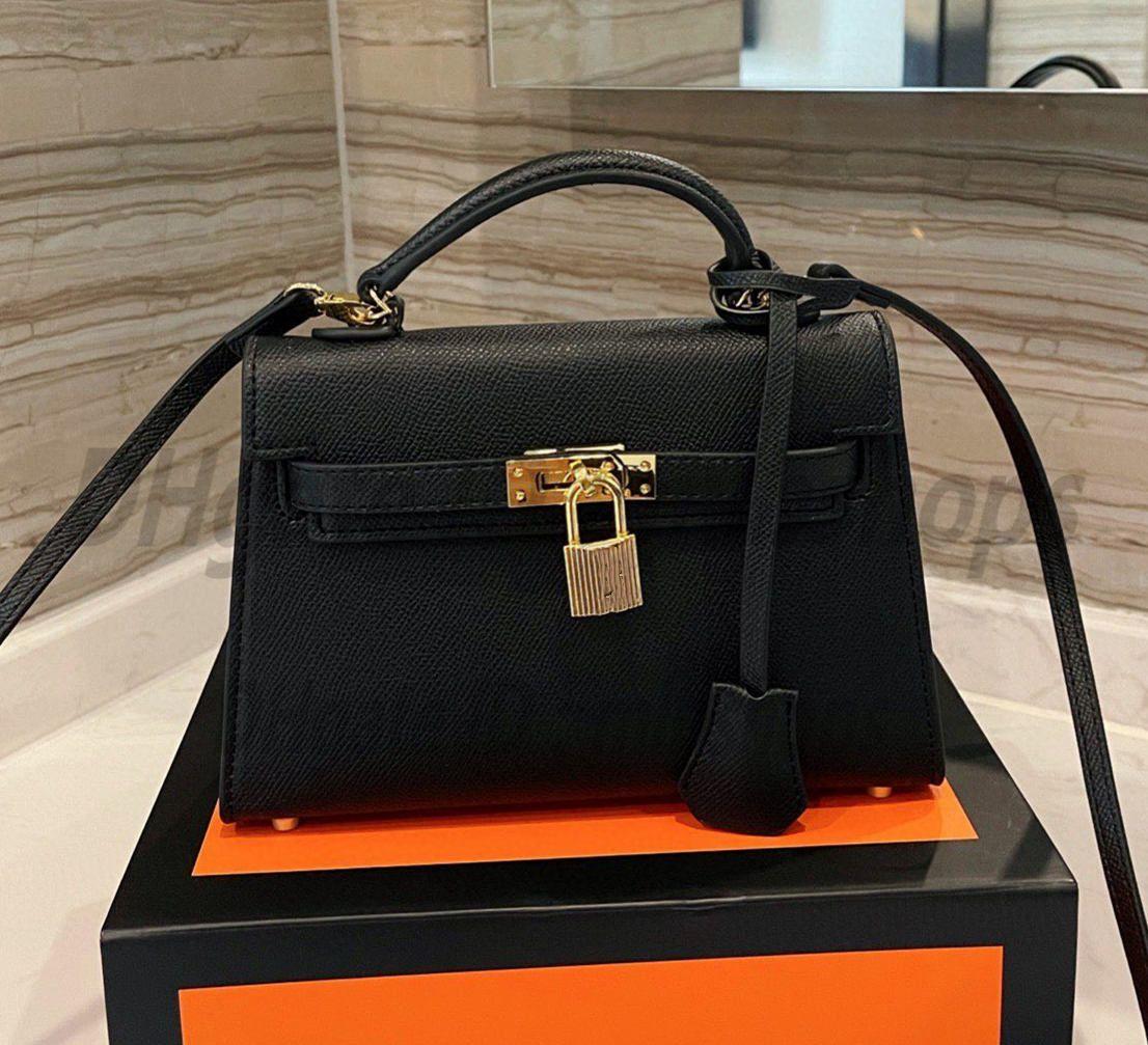 En Kaliteli Luxurys Tasarımcılar H Moda Bayan Çanta Crossbody Çanta Bayanlar Tote Çapraz Desen Kilit Çanta Çanta 2021 Çapraz Vücut Çanta En Popüler Çok Renkli