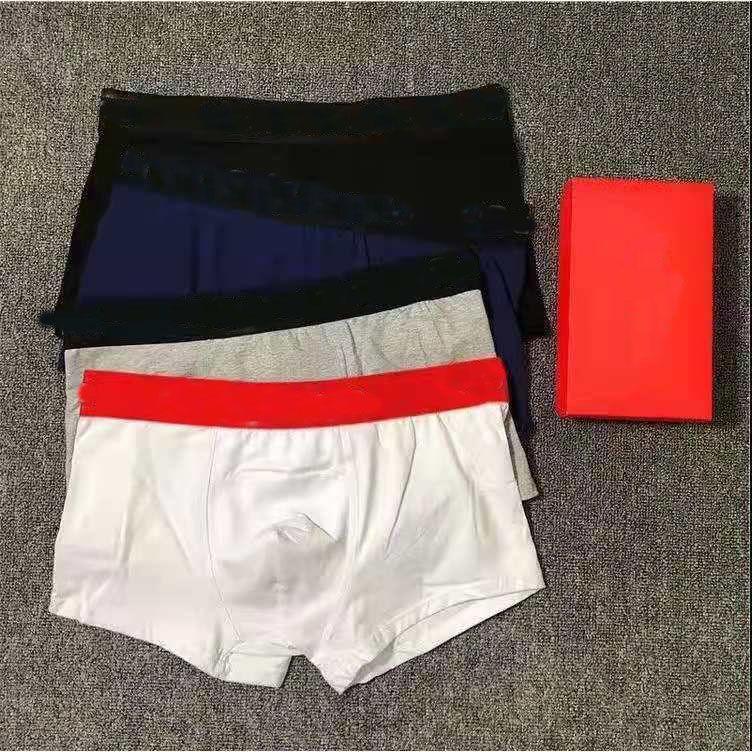 Hommes Designer Sous-robe Boxer Bref Sous-vêtements Shorts Mens Vintage Sexy Casual Coton Coton Coton Crocodile Sous-virage
