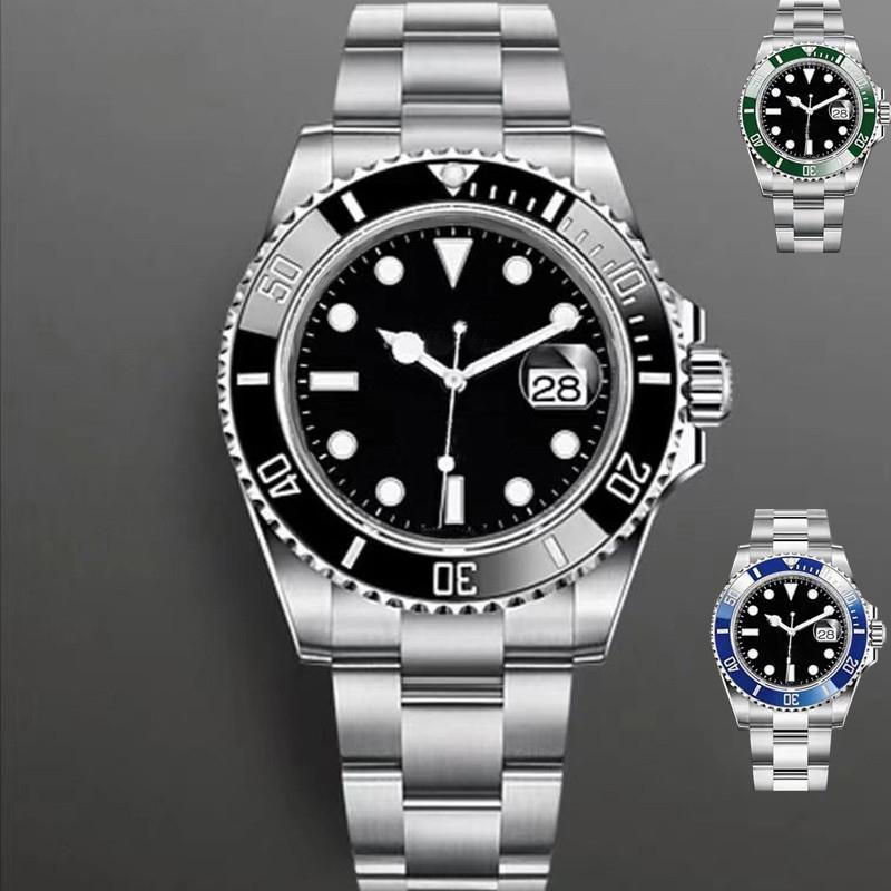 رجالي ووتش التلقائي الساعات الميكانيكية 40 ملليمتر السيدات المعصم الحياة للماء الفولاذ المقاوم للصدأ ساعة اليد montre دي لوكس الخمس