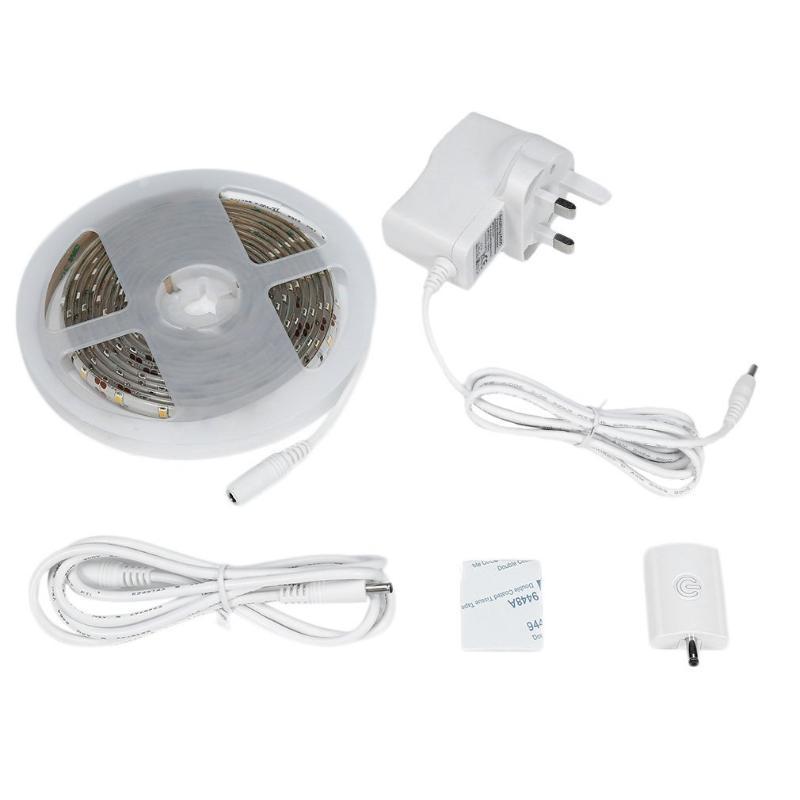 Strips Icoco 180 LEDs 3M 1.5A LED Dimmable Cabient Beleuchtungsset Smart Touch Sensor Streifen Wasserdichte IP66 DV12V Lampe