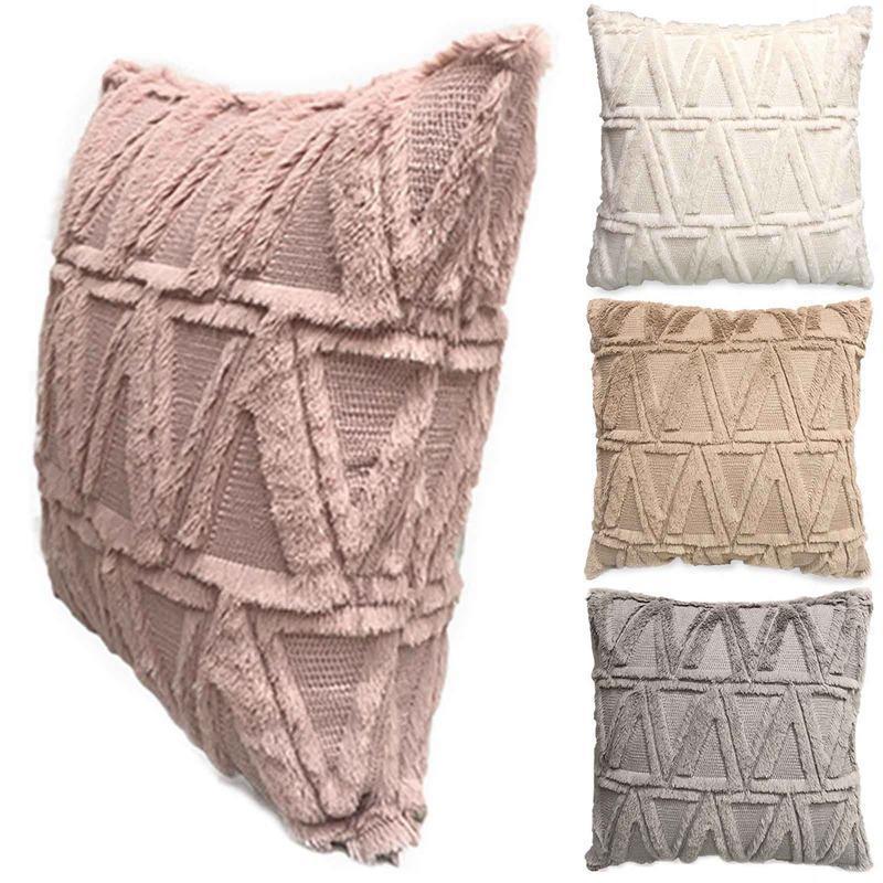 Cushion/Decorative Pillow 45*45cm Sofa Home Cushion Cover Solf Chair Case Seat Decorative Pillowcase Throw Pillows Bed Living Room