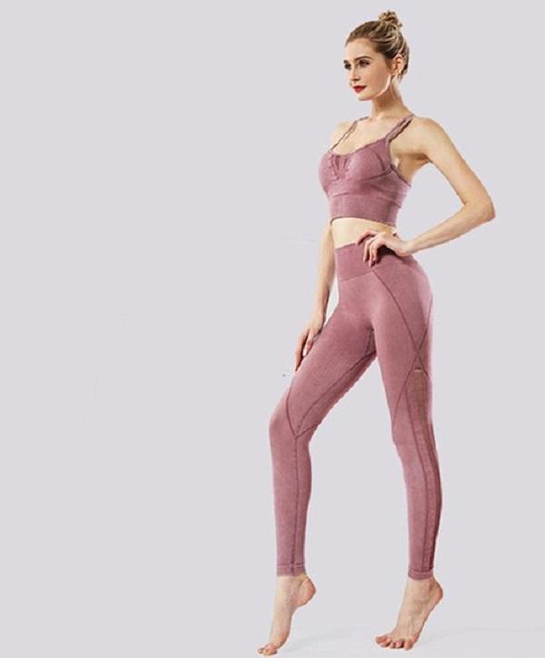 Temmuz Şarkı Gereksiz Yoga Tayt Set Fitness Spor Spor Giyim Pak Egzersiz Kadın Tall Sportbra 03