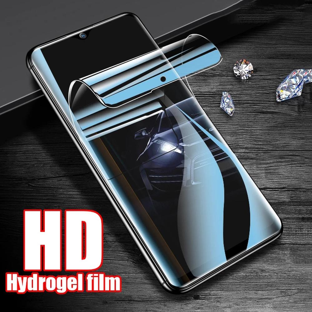 screen protectors Soft full cover for oneplus Nord N10 N100 8 8T plus 7 7T pro 6 6T Clover hydrogel filmprotective Not Glass