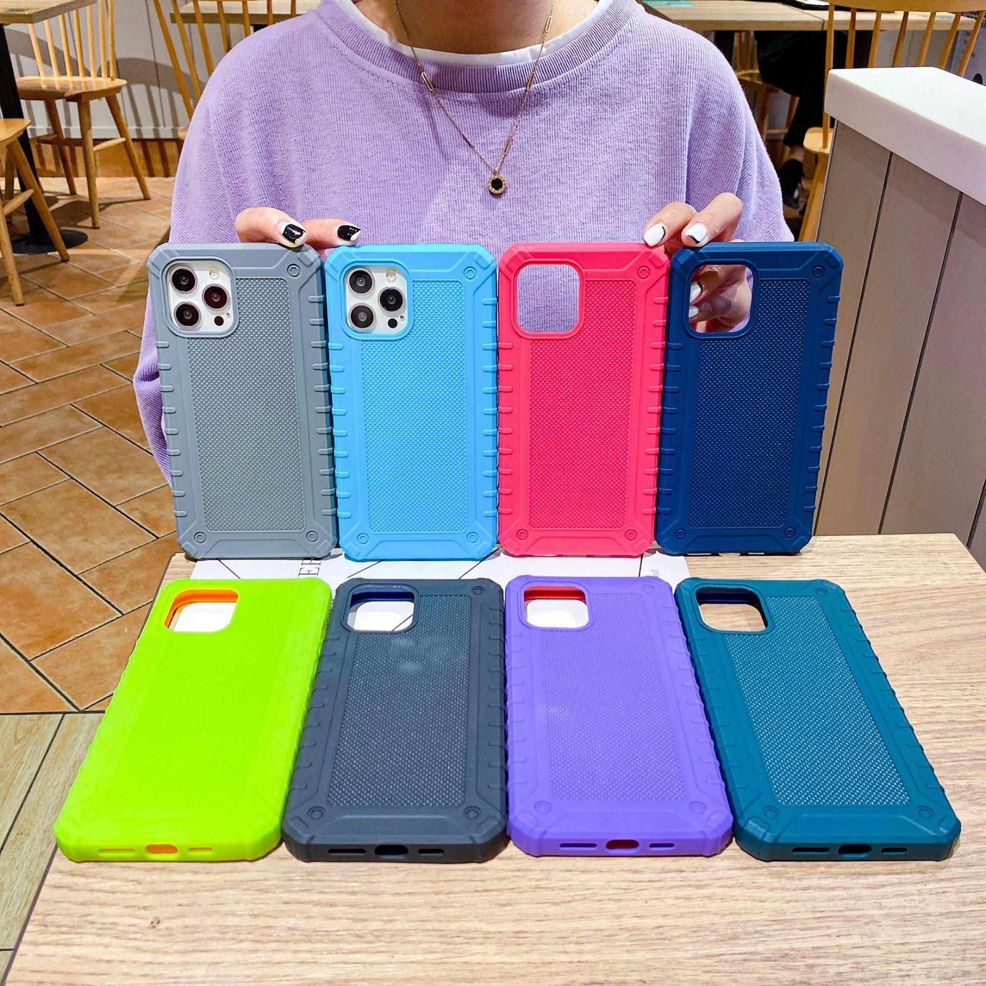 Mobiltelefonfälle Silikon für Apple iPhone 12Promax XR xs Zubehör Protector