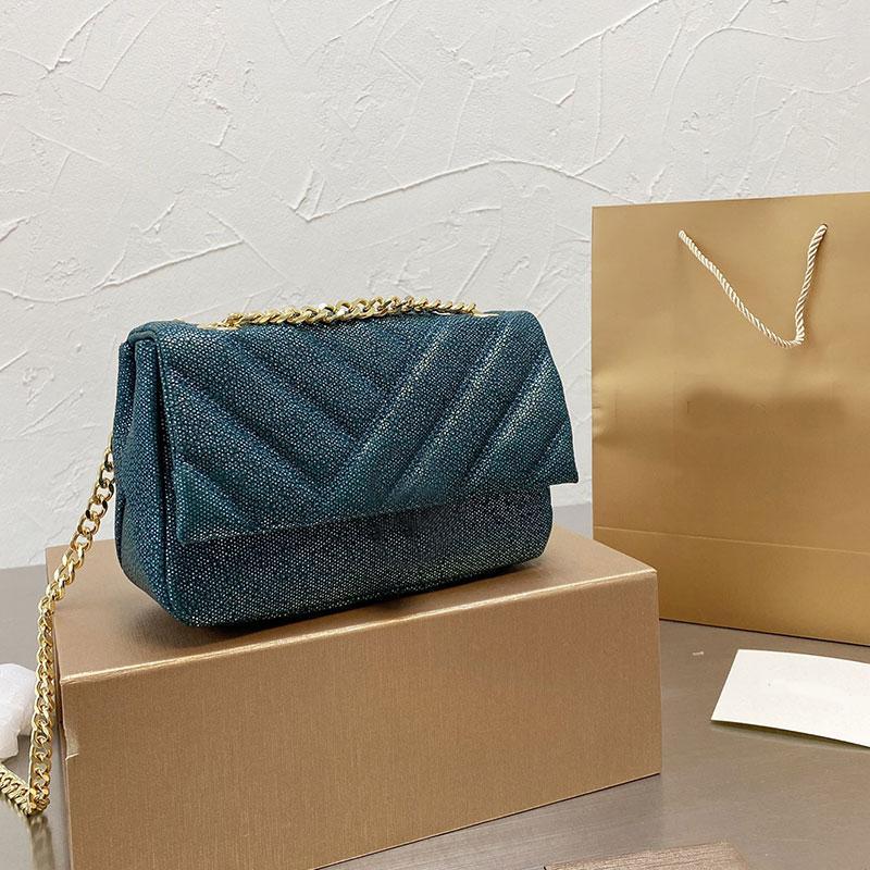 Handbag Fashion Shoulder Bag Wallets Chain Crossbody Bags Genuine Leather Snake Pattern Colored Enamel Buckle High Quality Hasp Handbags Purse