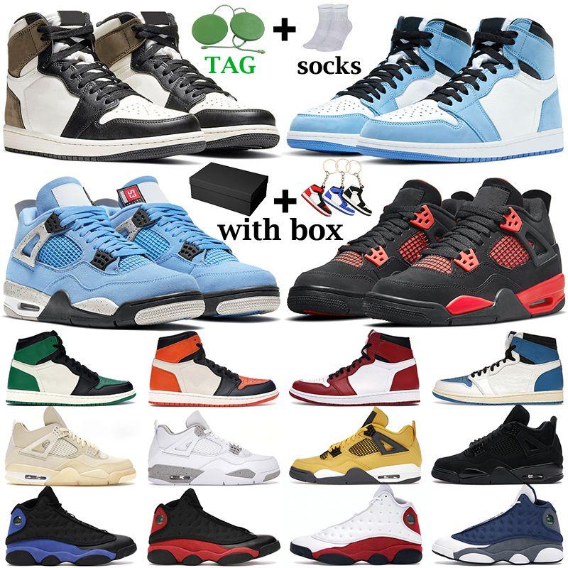 basketball shoes University Blue 1s Herren Basketballschuhe 1 Shadow 2.0 Hyper Royal 4s White Oreo Black Cat Damen Turnschuhe Sportschuhe mit Box