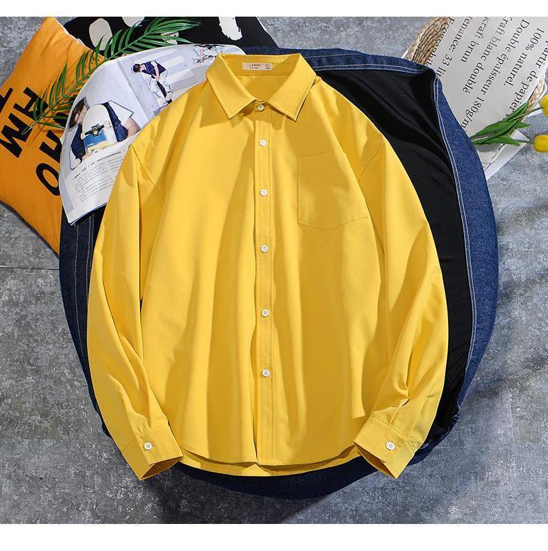 Laamei 남성 캐주얼 블라우스 코튼 린넨 셔츠 느슨한 탑스 긴 소매 봄 가을 여름 잘 생긴 남자 2021 셔츠