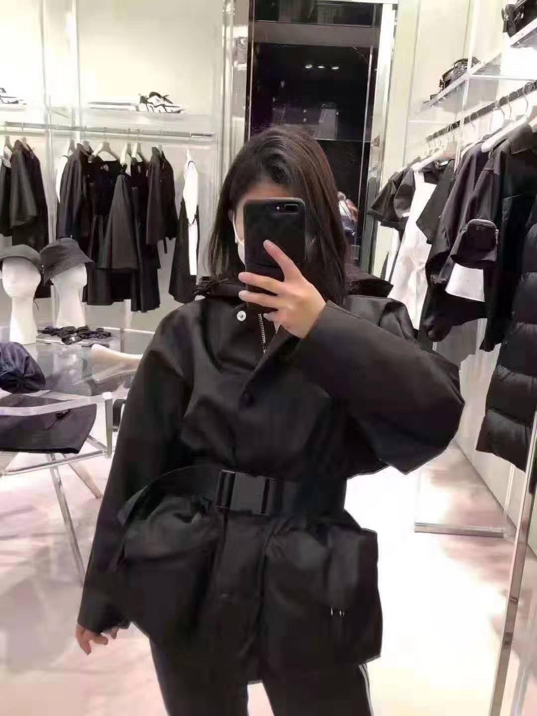 Kadın Ceketler Kapüşonlu Kemer Ile Slim Bayan Dış Giyim Rüzgarlık Ceket İlkbahar Sonbahar Moda Stil Ceketler Hoodie Güneş Koruma