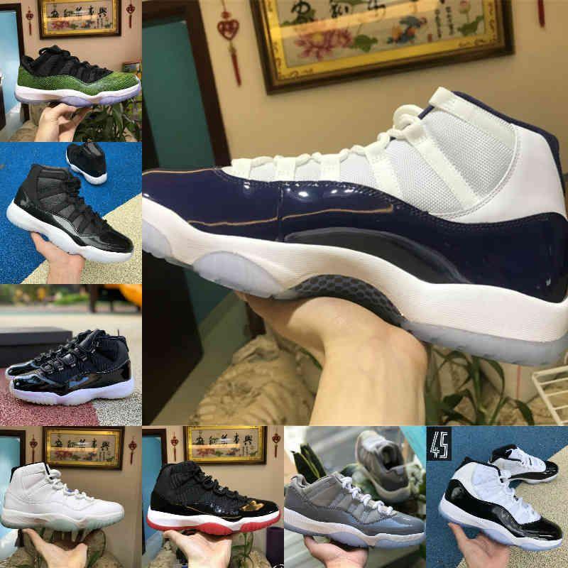 2021 اليوبيل بانتون ولدت عالية 11 11 ثانية أحذية كرة السلة أسطورة الأزرق 25th الذكرى الفضاء جاما الأزرق عيد الفصح بارد رمادي منخفض كولومبيا حذاء رياضة أبيض