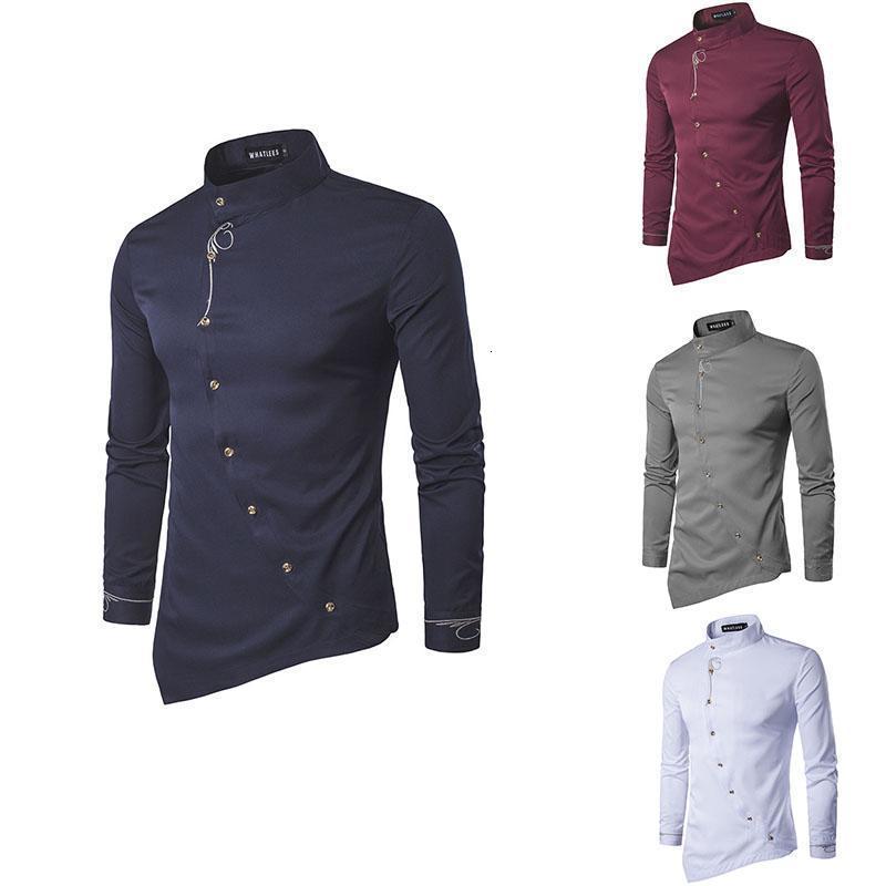 High qualitativ hochwertiges männer lässig shirt gewöhnliche passe lässig shirt männer langarm groß größe atmungsaktiver büro anzug edel