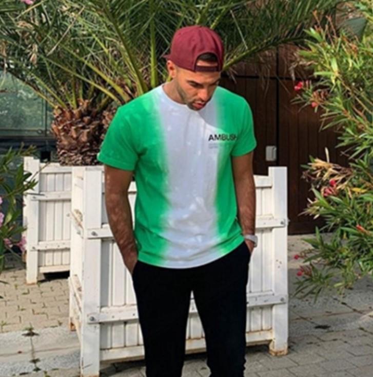 Pusu 20ss Kravat Boya T Gömlek Erkekler ve Kadınlar Için 100% Pamuk Kısa Kollu Çiftler T-shirt Tasarımcı Gelgit Marka T-Shirt Sınırlı Sürüm Tie-Boya Tops