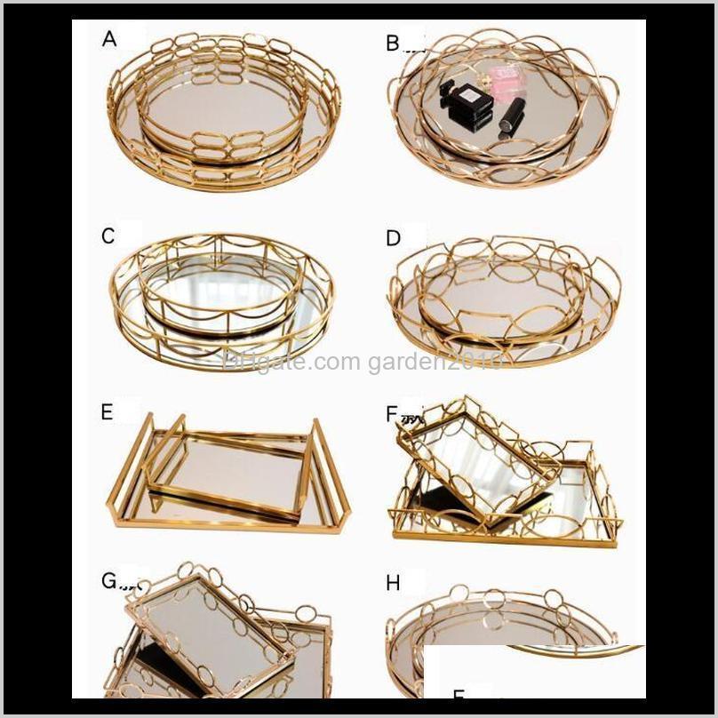 Другая таблица Аксессуары Дополнительные украшения Гибкий дизайн Модель номера EL Club Cemitect Современный простой металлический Зеркальный поддон 3BCW6 P0F9W