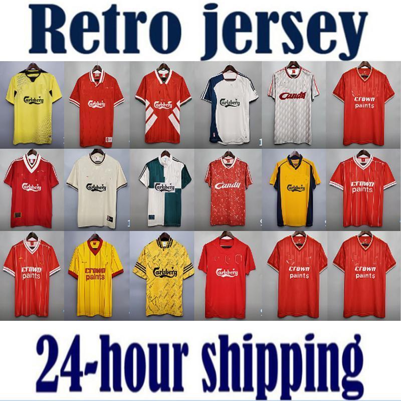 Rush Vintage Gerrard Retro Maillot De Football Soccer Jersey
