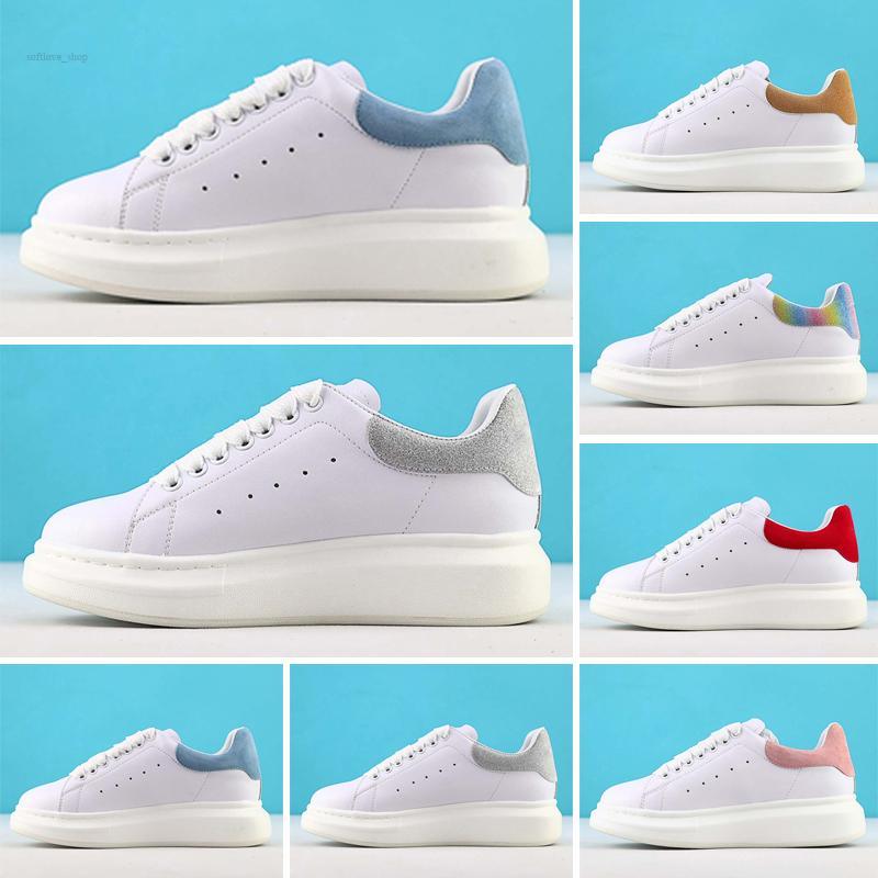2021 مصمم الأحذية أحذية رياضية المتضخم الذيل بالليزر منصة الكلاسيكية عارضة الرياضة espadrille رجل إمرأة أحذية رياضية