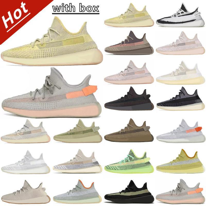 350 Kanye West V2 Reflective Men adidas yeezy yeezys yezzy yezzys yzy Wave Runner Sport Zapatillas correr Phosfor V1 MNVN Hueso Naranja Carbono V3 Zapatillas deporte Entrenadores