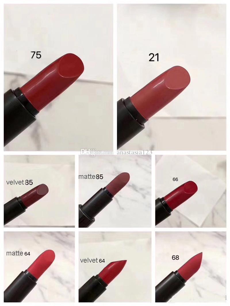 En kaliteli marka saten ruj rouge mat rujlar İtalya'da yapılan 3.5g rouge bir levres mat çantası ile 8 renk