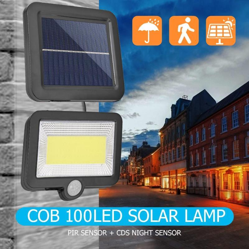 태양 램프 모션 센서 홈 벽 빛 방수 야외 정원 거리 장식 램프에 대 한