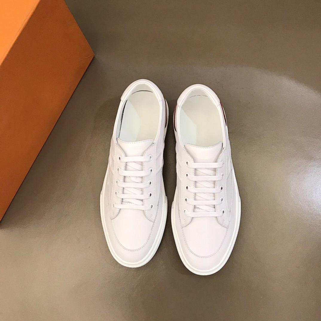 Yüksek kaliteli lüks tasarımcı ayakkabı erkek rahat spor ayakkabı, ithal buzağıkin minimalist sneaker kutusu ile boyut38-44