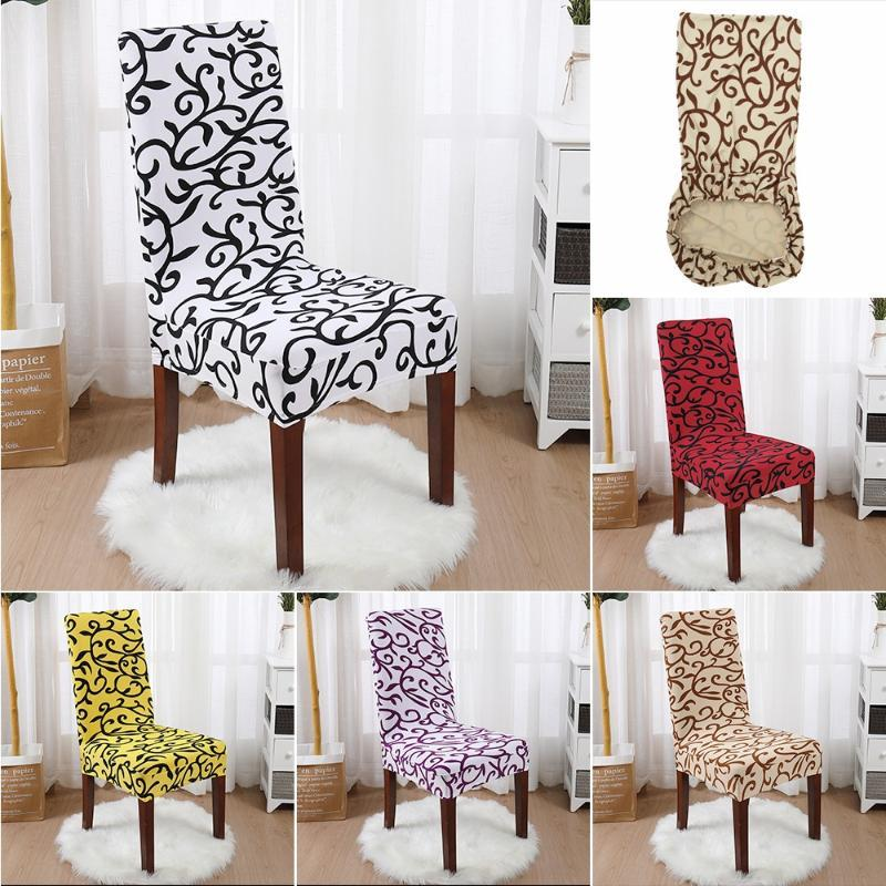Chair Covers White And Black Elastic Cover Seat El Banquet Folding Office Home Textile Product