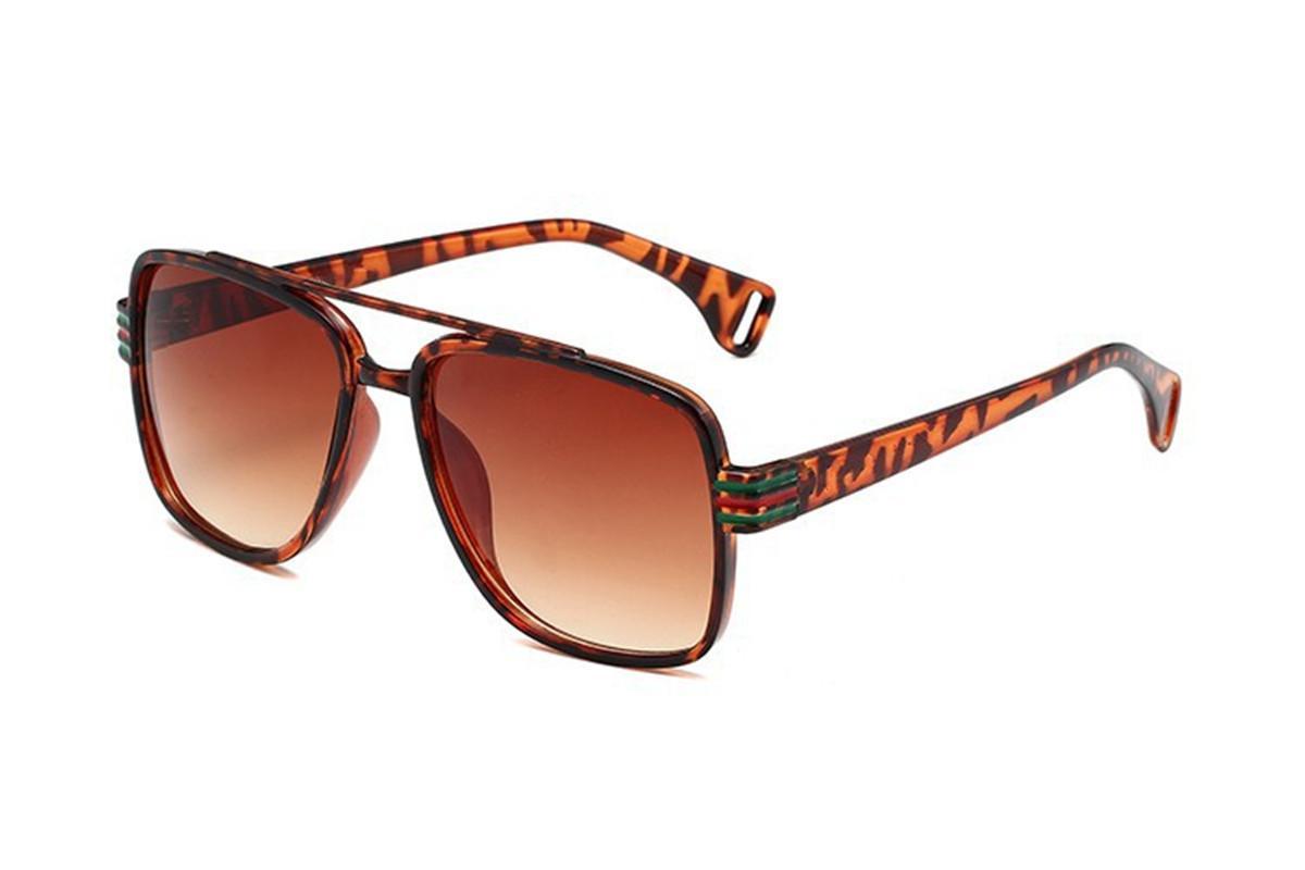Heißer Verkauf-Stil-Mode-Sonnenbrille Top-Qualität UV-Schutz-Platz-Sonnenbrille kommen mit Paket