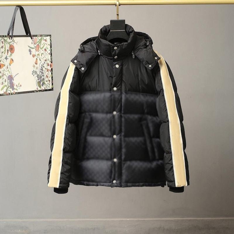 Classic Classic Hommes Down Down Winter Opond Top Designer Parker Mesdames Lettre Fleur Vestes de luxe Streetwear Hommes Hommes de haute qualité.