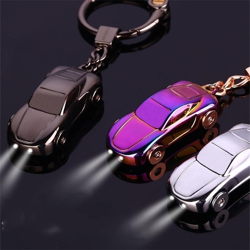 Car - Melhor Presente Metal Masculino de Alta Qualidade Chaveiro Suporte de Zinco Liga Pingente Corrente chave (com caixa) 17385 210409
