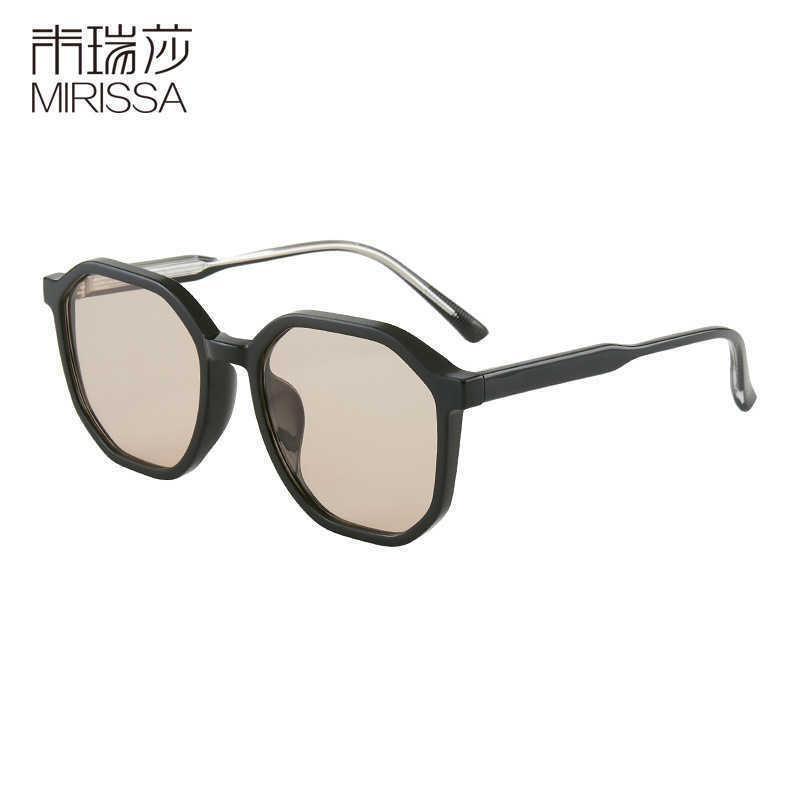Sunglasses beach seaside New fashion women's Korean men's anti Blu ray flat