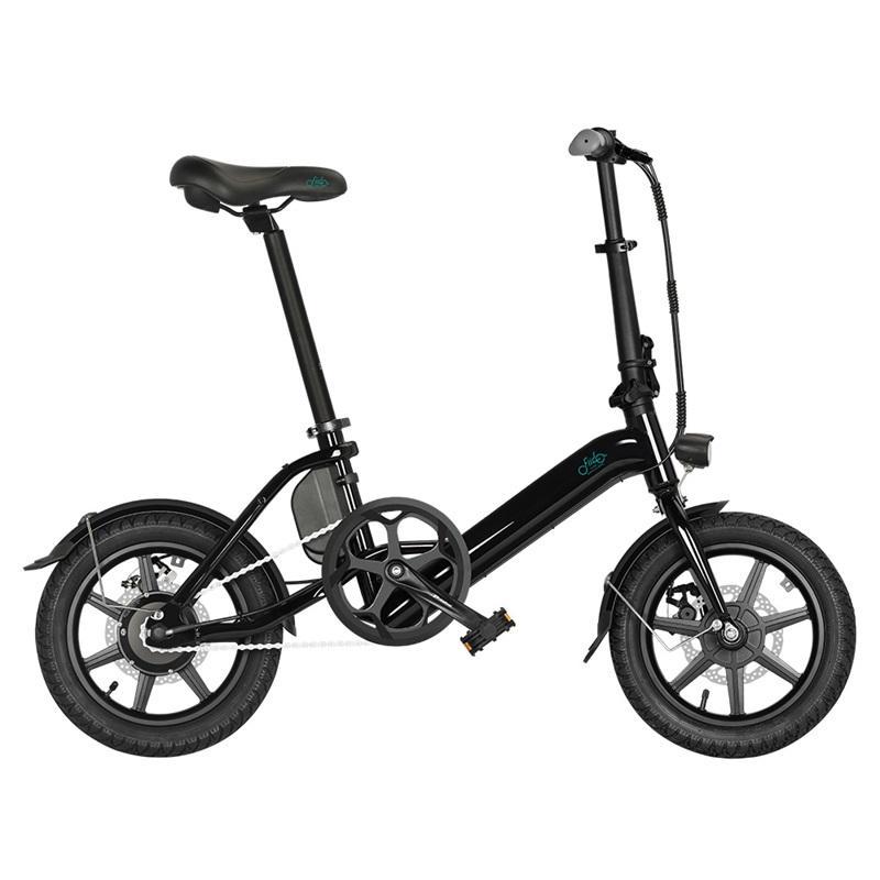 [Stock UE] Fiido D3 Pro E-bike 14 pollici pieghevole Bike elettrica D3-PRO 250W 36V 7.5 AH Bicicletta Bicicletta mini Biciclette da commutazione IVA inclusa