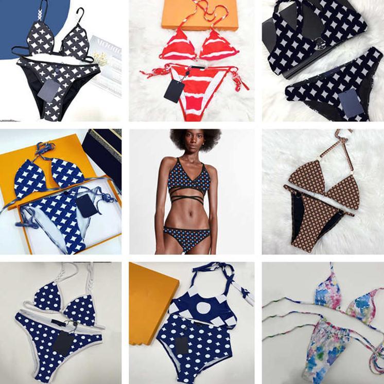 أزياء مزيج أنماط مصمم ملابس السباحة النساء بيكيني مجموعة نسيج الصيف الشاطئ الاستحمام الدعاوى ملابس عالية الجودة