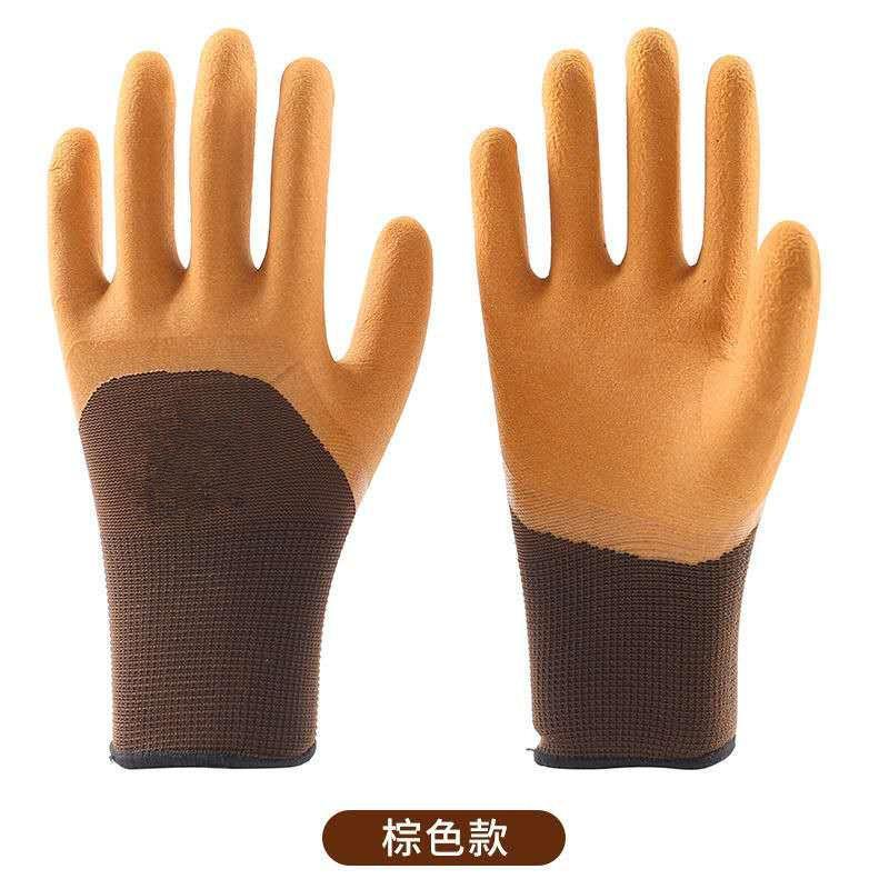 Disposable Gloves Garden One-handed Digging Latex Foaming Working Anti-wear And Anti-skid CN(Origin)