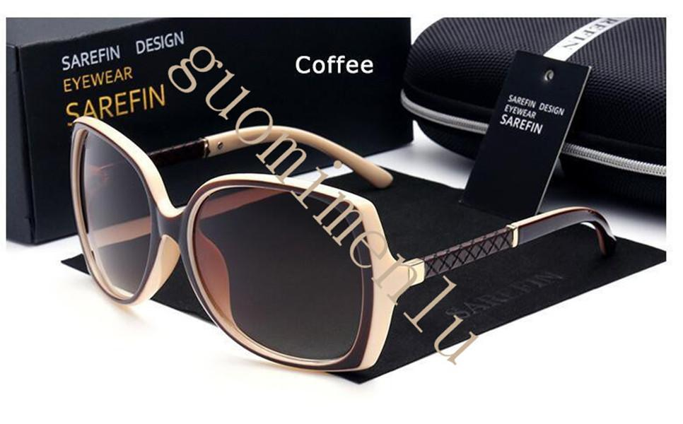 جودة عالية أزياء خمر النساء العلامة التجارية مصمم إمرأة نظارات شمسية uv400 السيدات الدراجات نظارات نظارات الشمس مع الحالات وصندوق 7 ألوان