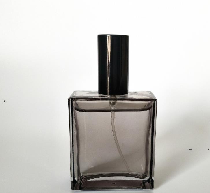 جديد 50 ملليلتر شقة مربع زجاج العطور قوارير رش زجاجة التجميل زجاجات فارغة بالجملة EWA6244