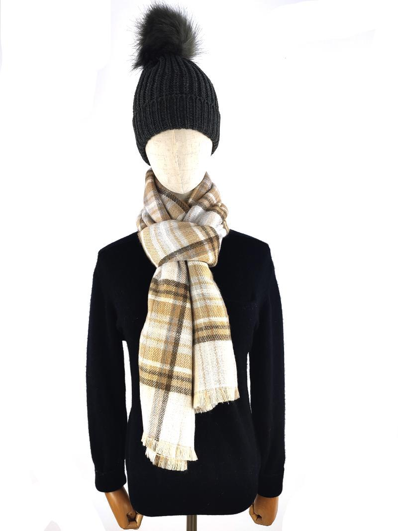 Brand Designer Cashmere Scarf Women Winter Scarves High Quality Shawls And Wraps Thick Warm Lady Blanket