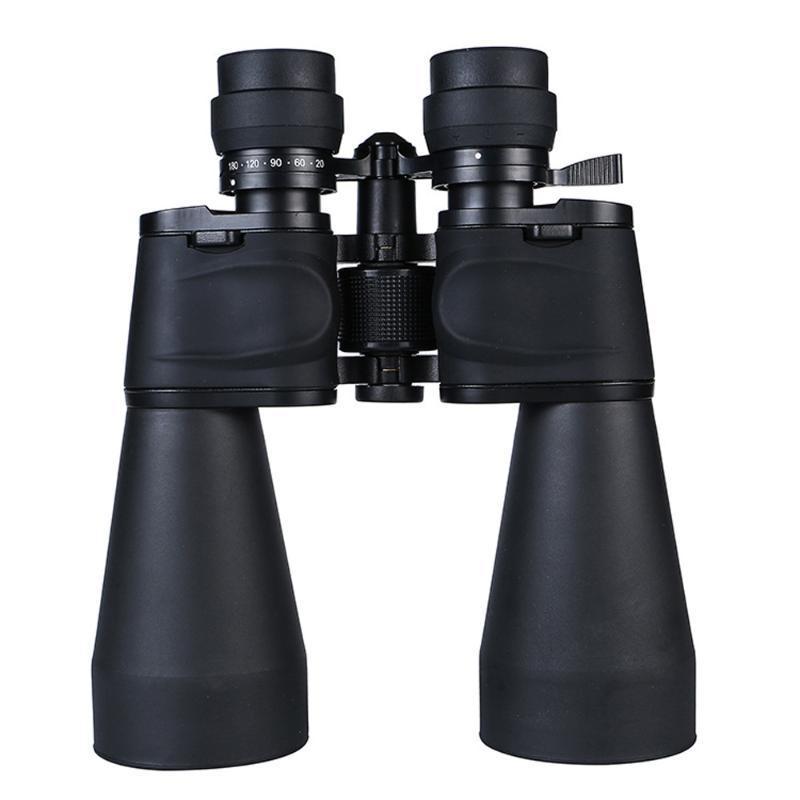Teleskop Dürbün Güçlü 20-180x100 10000 m Yüksek Çözünürlüklü Optik Su Geçirmez HD Düşük Işık Gece Görüş Açık Avcılık