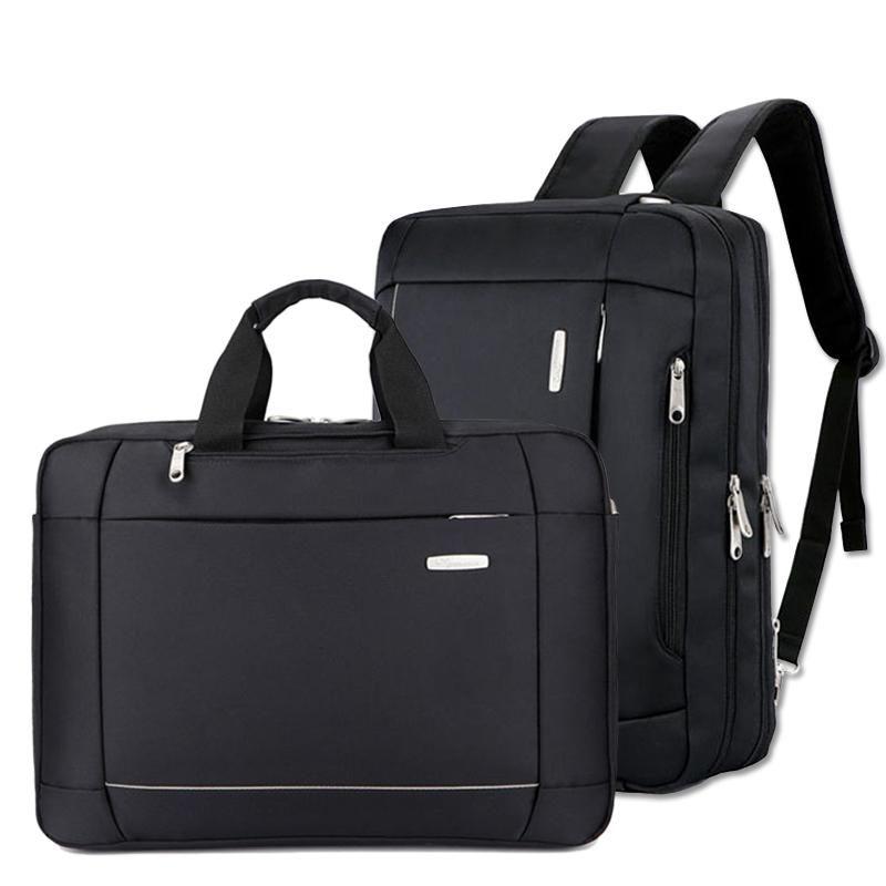 Moda Business Masculino Pasta Marca Masculino Nylon Handbags Casual Laptop Multifuncional Big Convertible Saco de Viagem XA268zc Q0112